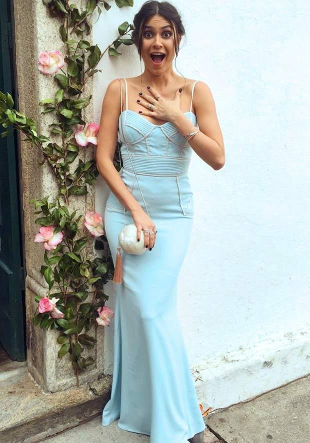 Vestido Azul Serenety