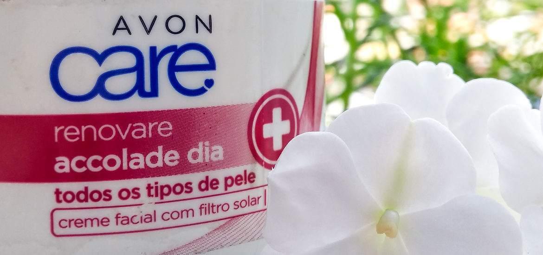 Hidratante Facial Renovare Accolade para o Dia Avon