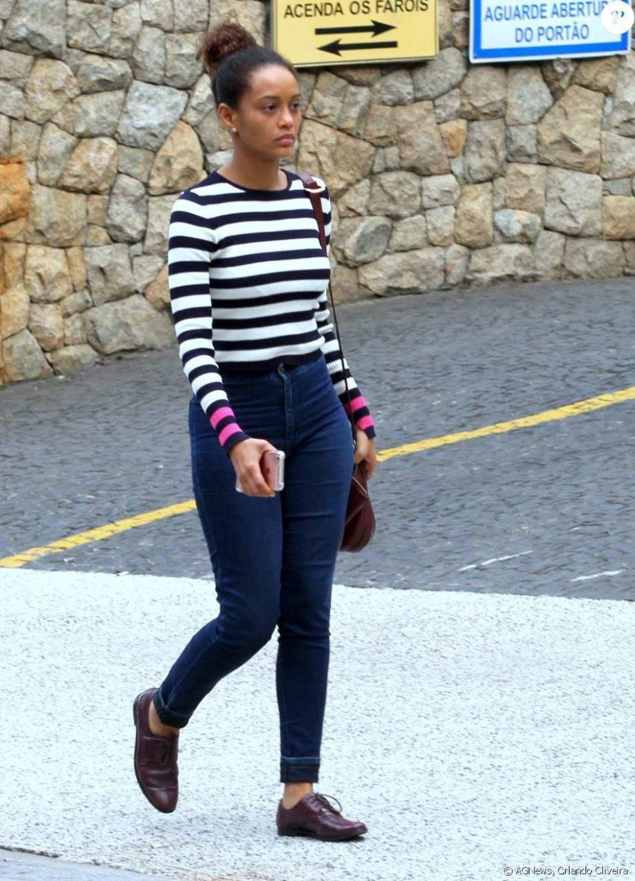 Listras Com Jeans
