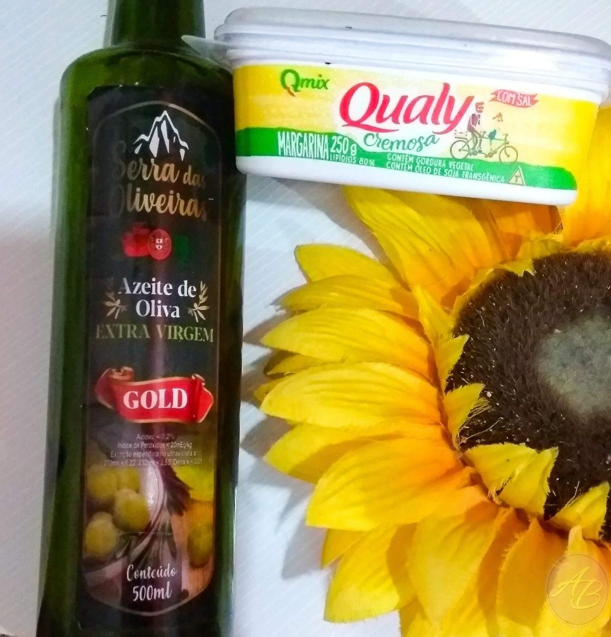 Umectação Capilar com Margarina